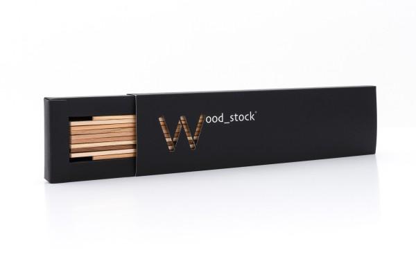 Wood Stock Zollstock 2m Holz natur